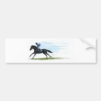 racehorse bumper sticker