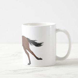 Racehorse Classic White Coffee Mug