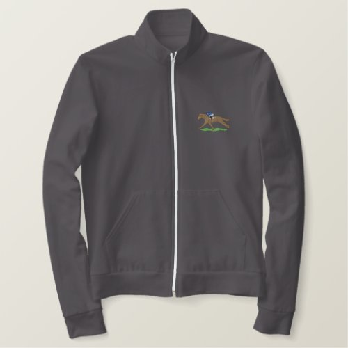 Racehorse Embroidered Jacket