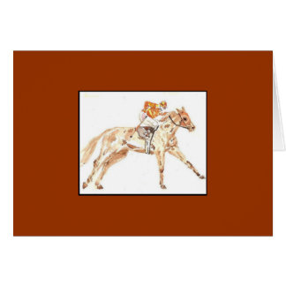 Racehorse gift cards
