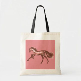Racehorse Greats ~ Deco Thoroughbreds Tote Bags