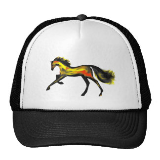 Racehorse Greats ~ Deco Thoroughbreds Mesh Hats