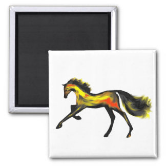 Racehorse Greats Deco Thoroughbreds Refrigerator Magnets