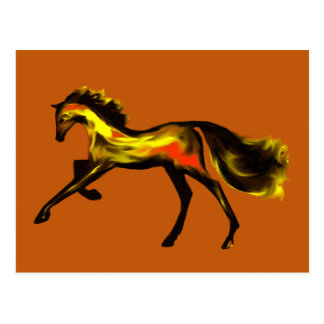 Racehorse Greats Deco Thoroughbreds Post Cards