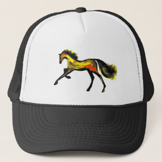 Racehorse Greats ~ Deco Thoroughbreds Trucker Hat