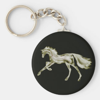 Racehorse Greats ~ SIlver Deco Keychain