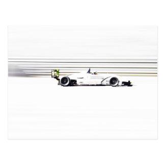 Racer 91 postcard