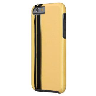 Racer Black on Gold iPhone 6/6s, Tough Tough iPhone 6 Case