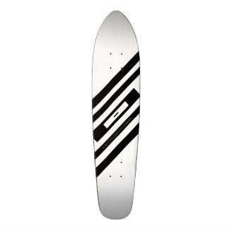 Racer Black White Infinity by Grassrootsdesigns4u! Skate Board Decks