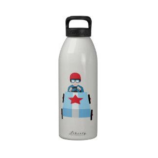 Racer Boy Water Bottle