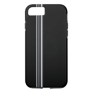 Racer Chrome on Drk Gray iPhone 5/5s/6/6s7, Tough iPhone 7 Case