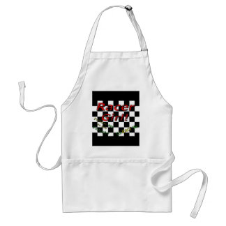 RACER GIRL ADULT APRON