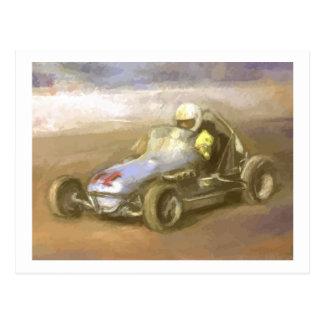 Racer Postcard