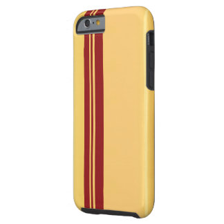 Racer Red on Gold iPhone 6/6s, Tough Tough iPhone 6 Case