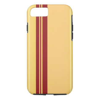 Racer Red on Gold iPhone 7/7, Tough iPhone 7 Case
