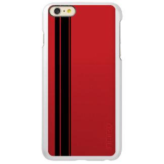 Racer Stripe iPhone 5/5s Feather® Shine, Gunmetal Incipio Feather Shine iPhone 6 Plus Case