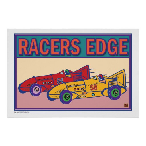 Racers Edge-Prints/Poster