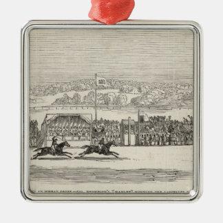 Races at Wheat Croft: Col. Thompson's 'Hamlet' Metal Ornament