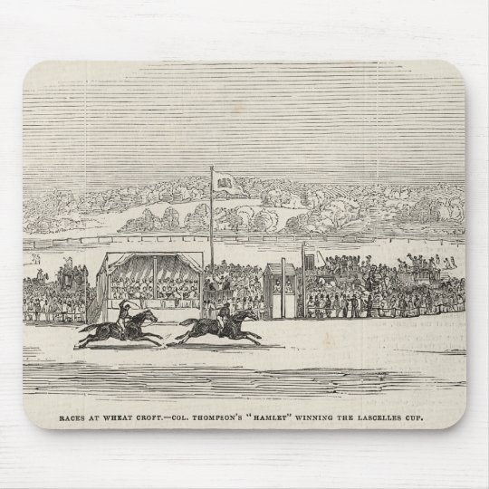Races at Wheat Croft: Col. Thompson's 'Hamlet' Mouse Pad