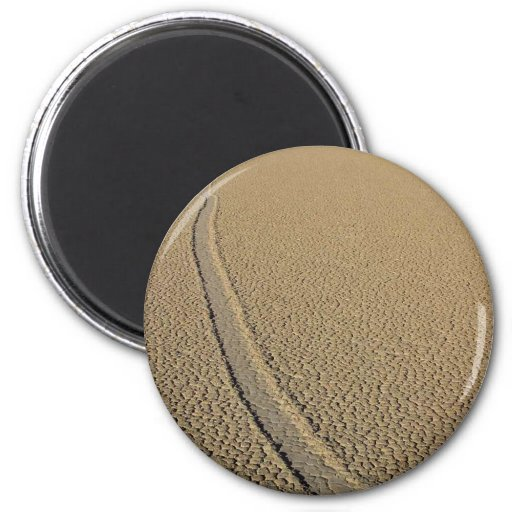 Racetrack Playa 2 Inch Round Magnet