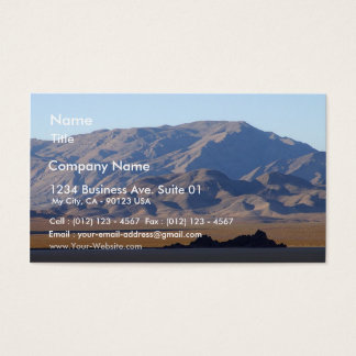 Racetrack Playa Gransstand Business Card