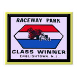 Raceway Park Post Card