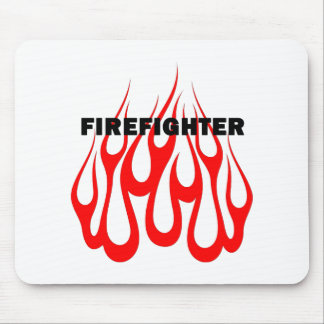 Racey Flames FF Mouse Pad