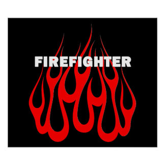 Racey Flames FF Print