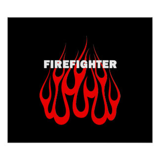 Racey Flames FF Posters