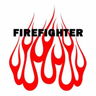 Racey Flames FF Statuette
