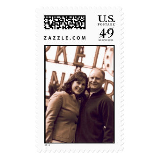 Rache y foto del compromiso de la marca sellos