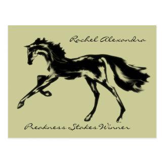 Rachel Alexandra postcard