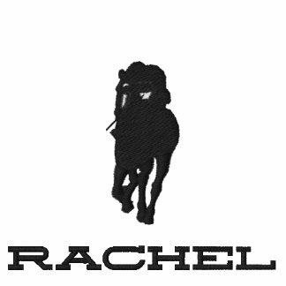 Rachel Alexandra Silhouette Embroidered Hoody