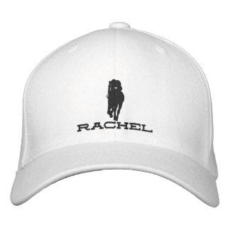 Rachel Alexandra Silhouette Hat Embroidered Baseball Cap