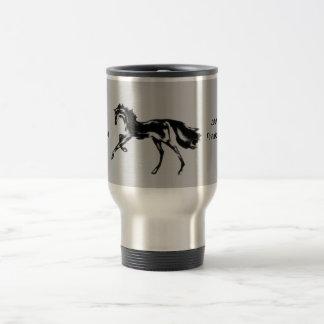 Rachel Alexandra the 2009 Preakness Winner 15 Oz Stainless Steel Travel Mug