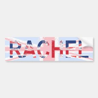 Rachel Bumper Sticker