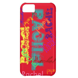 Rachel Case iPhone 5 Name Case - Red