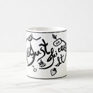 Rachel Doodle Art - Just Juice It Coffee Mug