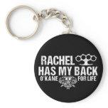 Rachel Has My Back Keychain