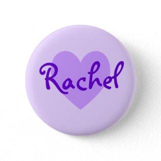 Rachel in Purple button