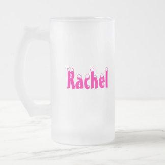 Rachel-Name-Frosted Mug