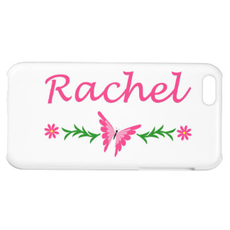Rachel (Pink Butterfly) iPhone 5C Cover