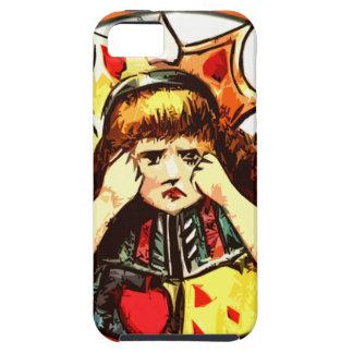 Rachel the Queen of Hearts upset iPhone SE/5/5s Case