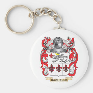 Rachelle Coat of Arms (Family Crest) Keychains