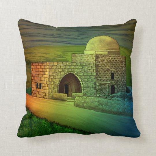Rachel's Tomb by rafi talby Throw Pillow