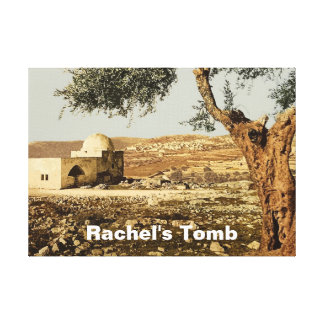 Rachel's Tomb Canvas Print