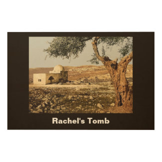Rachel's Tomb Wood Wall Art