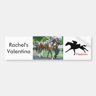 Rachel's Valentina Bumper Sticker