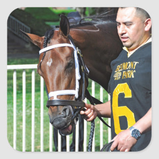 Rachel's Valentina - Mother Goose Square Sticker
