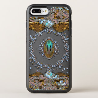 Rachels Wreath Monogram OtterBox Symmetry iPhone 8 Plus/7 Plus Case